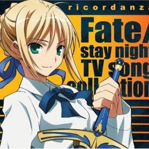 TYPE-MOON 型月 Ricordanza Fate/Stay Night TV原声音乐CD大碟